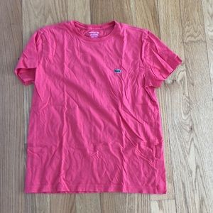 Lacoste basic tee in coral, size S